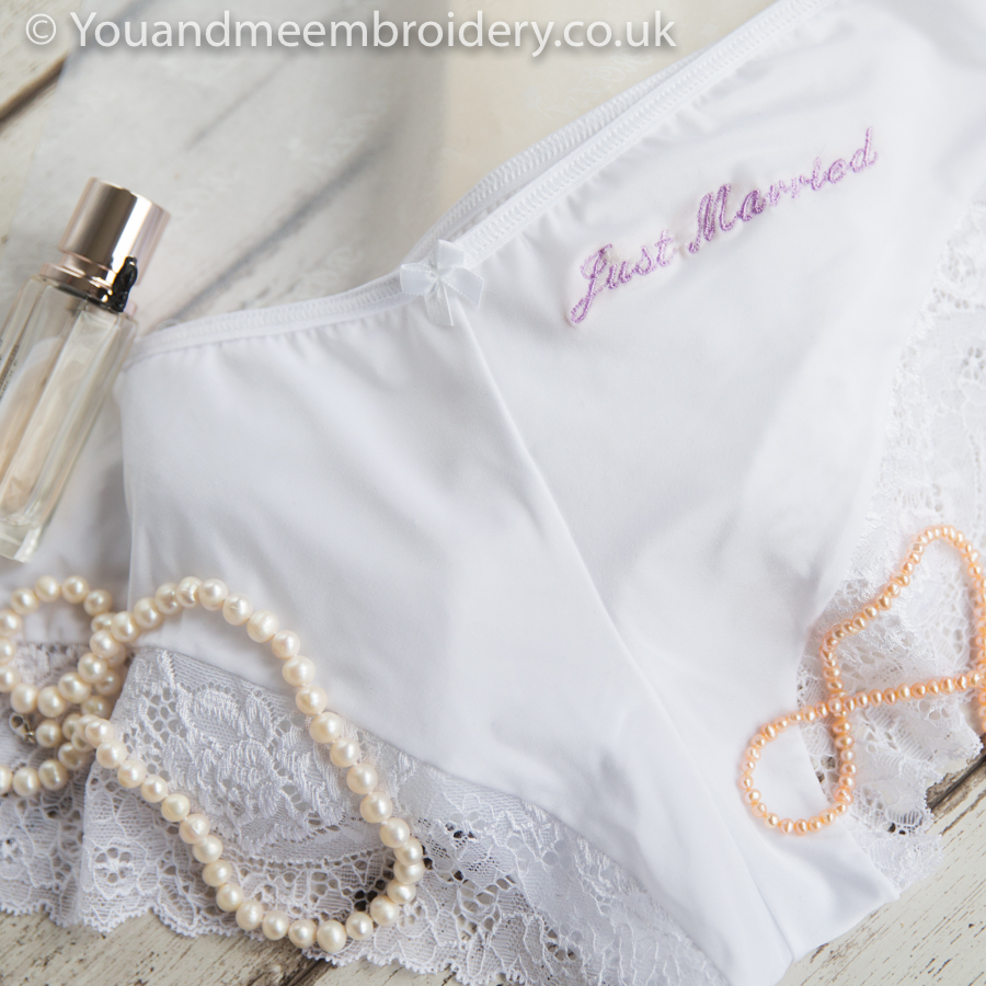 personalised wedding knickers-2